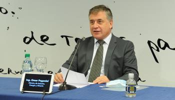 Ministro de Industria, Omar Paganini