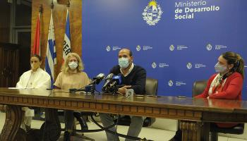 Martín Lema encabeza conferencia de prensa