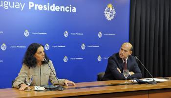 Azucena Arbeleche y Martín Lema