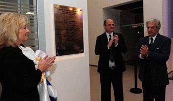 Presidente Vázquez en inauguración de data center