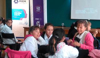 Día Internacional de las Niñas en las TIC, en sede del Ministerio de Educación y Cultura