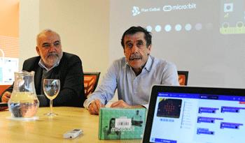 Wilson Netto y Miguel Brechner