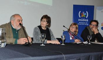 Wilson Netto, Marina Arismendi, Cristina Lustemberg y Federico Graña