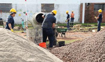 Reconstrucción de la ciudad de Dolores