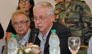 Ministro Jorge Basso en Dolores
