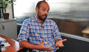 Director Nacional de Políticas Sociales del Mides, Matías Rodríguez