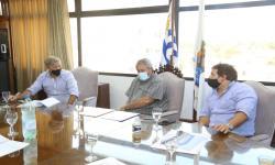 Reunión Intendencia de Maldonado