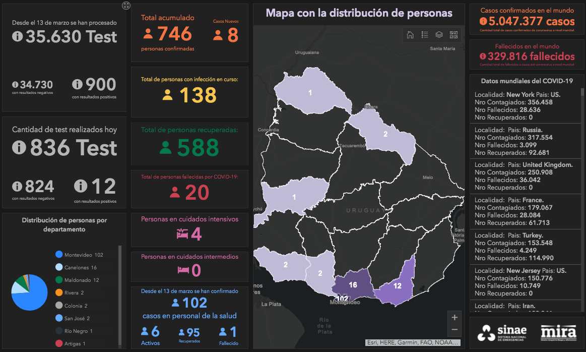 Captura del visualizador
