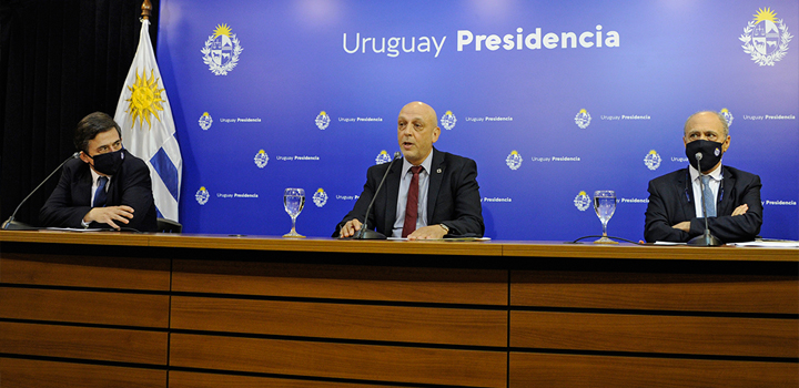 Conferencia del GACH. Fuente: Presidencia