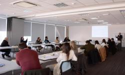 Reunión presencial de referentes de distintos organismo que participan en la elaboración del Plan Nacional