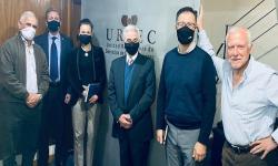 Foto de autoridades de URSEC de la ANC