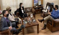 Foto de Sr. Pablo Siris, Dra. Carol Dolinkas, Dra. Mercedes Aramendía y Lic. Roberto Cavanna